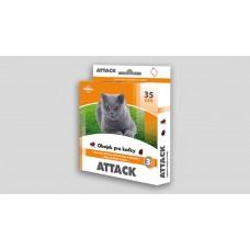 Attack antiparazitární obojek pro kočky 35cm