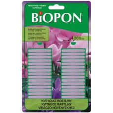 Biopon tyčinky na kvitnúce rastliny 30 ks
