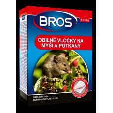BROS obilné vločky na myši, krysy a potkany 100g