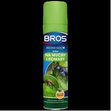 BROS Zelená sila - sprej proti muchám a komárom