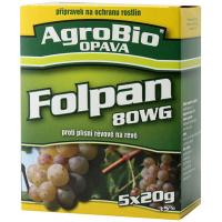 AgroBio Folpan 80 WG proti plísni révové v révě vinné