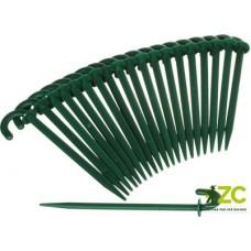 Kolík k upevňování folií - 12 cm 20 ks