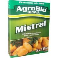 PROTI plevelu v bramborách MISTRAL