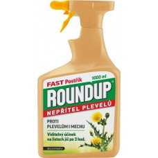 Roundup Fast - bez glyfosátu - 1 l rozprašovač