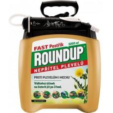 Roundup Fast - bez glyfosátu - 5 l rozprašovač /P&GO 2/